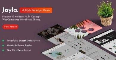 Jayla - Minimal & Modern Multi-Concept WooCommerce Theme 3