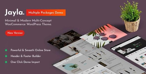 Jayla - Minimal & Modern Multi-Concept WooCommerce Theme 11