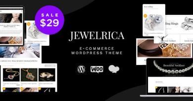 Jewelrica - eCommerce WordPress Theme 35