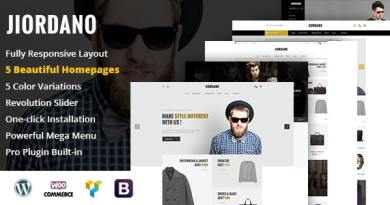 Jiordano - Responsive Fashion WooCommerce WordPress Theme 7