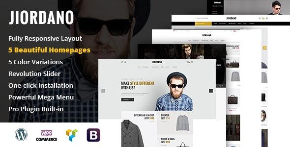 Jiordano - Responsive Fashion WooCommerce WordPress Theme 9