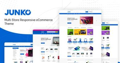 Junko - Technology Theme for WooCommerce WordPress 4