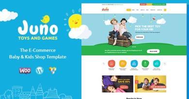 Juno | Kids Toys & Games Store WordPress Theme 2