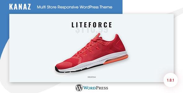 Kanaz - Multi Store Responsive WordPress Theme 1