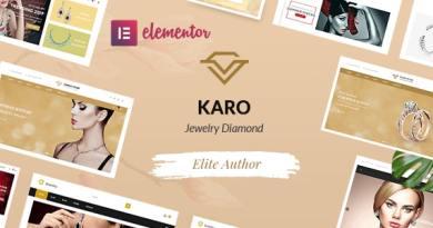 Karo | Jewelry Diamond WooCommerce WordPress Theme 2
