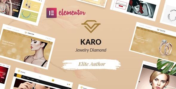 Karo | Jewelry Diamond WooCommerce WordPress Theme 1