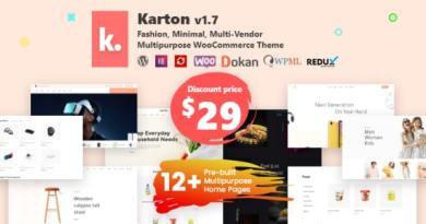 Karton | Multipurpose WooCommerce Theme 2