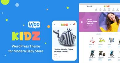 KIDZ - Baby Shop & Kids Store WordPress WooCommerce Theme 4
