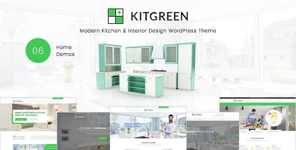 KitGreen - Modern Kitchen & Interior Design WordPress Theme 2