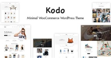 Kodo - Minimal Responsive WooCommerce Theme 4
