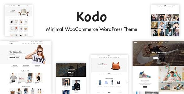 Kodo - Minimal Responsive WooCommerce Theme 6