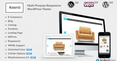 Koorsi – Furniture Woocommerce Theme 2