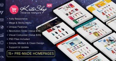 KuteShop - Fashion, Electronics & Marketplace WooCommerce Theme (RTL Supported) 3