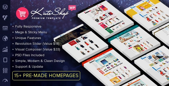KuteShop - Fashion, Electronics & Marketplace WooCommerce Theme (RTL Supported) 7