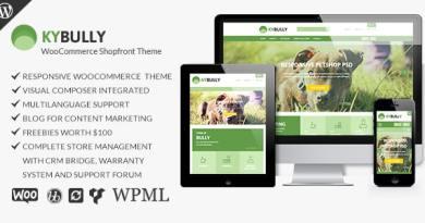 Kybully - Responsive WooCommerce Shopfront Theme 4