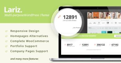 Lariz - Multipurpose WooCommerce Theme 2
