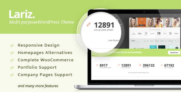Lariz - Multipurpose WooCommerce Theme 18