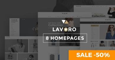 Lavoro - Fashion Shop WooCommerce Theme 5