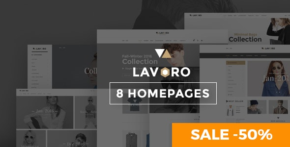 Lavoro - Fashion Shop WooCommerce Theme 1