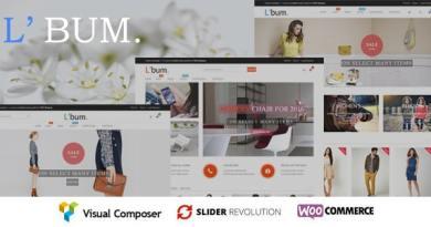 L'bum - Responsive WooCommerce Theme 2