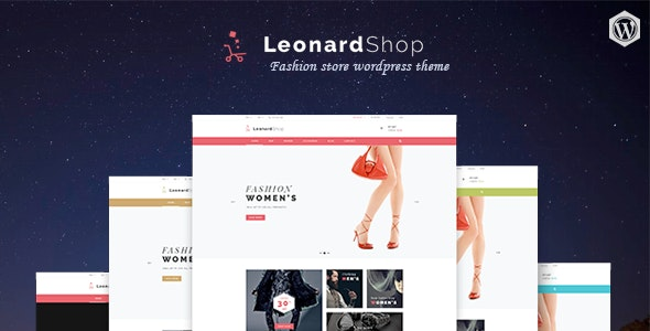 Leonard Shop - Responsive WooCommerce WordPress Theme 1