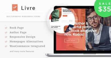 Livre - WooCommerce Theme For Book Store 2