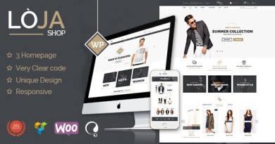 Loja - Responsive WooCommerce Theme 6