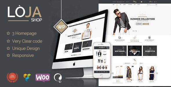 Loja - Responsive WooCommerce Theme 1