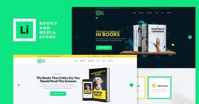 Lorem Ipsum | Books & Media Store WordPress Theme 4