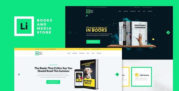 Lorem Ipsum | Books & Media Store WordPress Theme 1