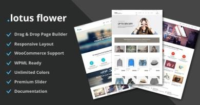 Lotus Flower - Flexible Multi-Purpose Shop Theme 3