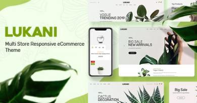 Lukani - Plant Store Theme for WooCommerce WordPress 3