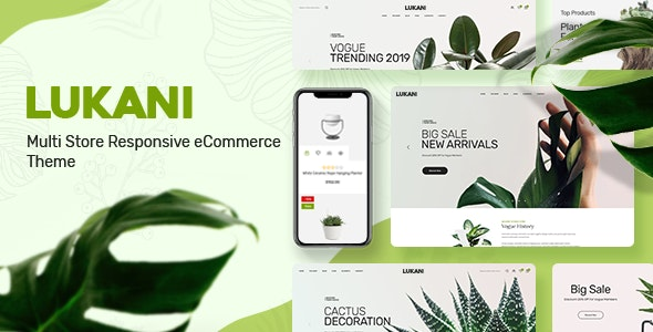 Lukani - Plant Store Theme for WooCommerce WordPress 1