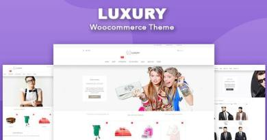 Luxury - WooCommerce WordPress Theme 4