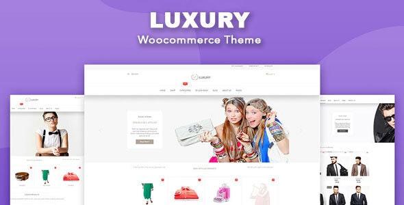Luxury - WooCommerce WordPress Theme 11