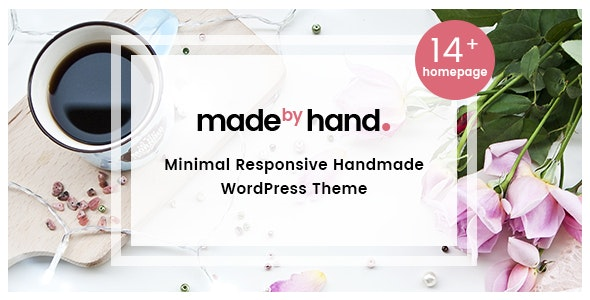 MadebyHand - Minimal Handmade eCommerce WordPress Theme 1
