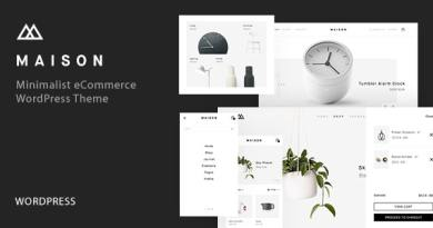 Maison - Minimalist eCommerce WordPress Theme 3