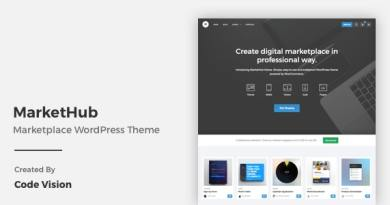 MarketHub - Marketplace WordPress Theme 4