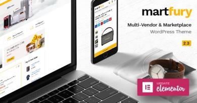 Martfury - WooCommerce Marketplace WordPress Theme 2