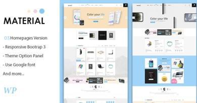 Material - Electronics WooCommerce WordPress Theme 18
