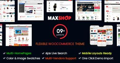 Maxshop | Multi-Purpose Responsive WooCommerce Theme (9+ Homepages & Mobile Layouts Ready) 11