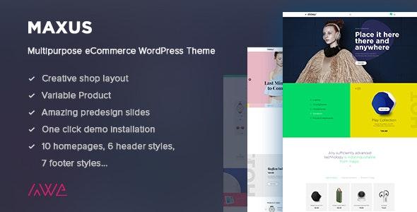 Maxus - Multipurpose eCommerce WordPress Theme 9