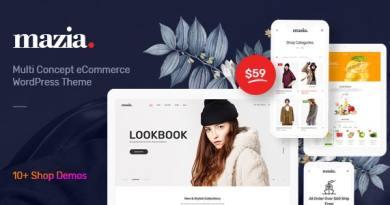Mazia - Multipurpose WooCommerce Theme 3