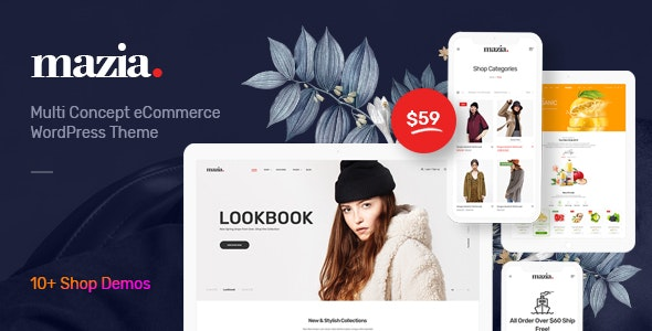 Mazia - Multipurpose WooCommerce Theme 5