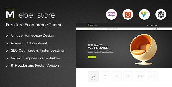 Mebel - Responsive Furniture & Book Store WordPress Theme 1