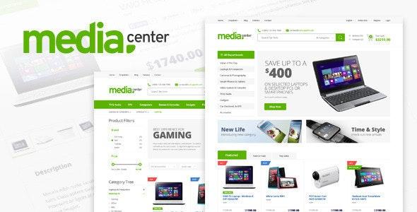 MediaCenter - Electronics Store WooCommerce Theme 1