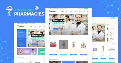 Medicare Pharmacies - Healthcare WordPress Theme 4