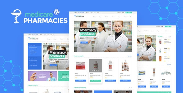 Medicare Pharmacies - Healthcare WordPress Theme 1