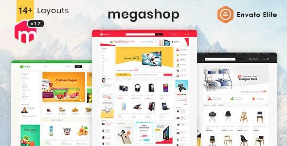 Mega Shop - WooCommerce Multi-Purpose Responsive Theme 3