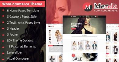 Menda - Ecommerce Wordpress Themes 4